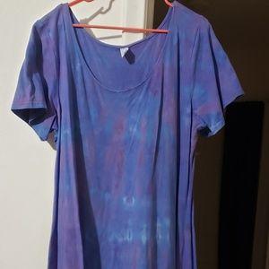 Custom Made Tie Dye Dress Size 3x